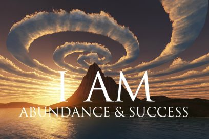 I AM Affirmations ➤ Spiritual Abundance & Success | Solfeggio 852 & 963 Hz | Stunning Nature Scenes